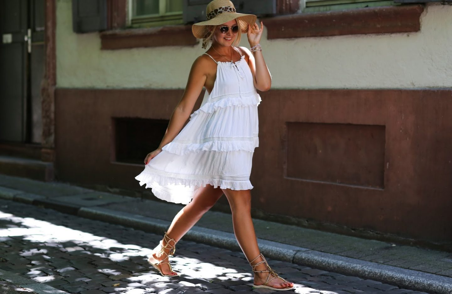 SWING DRESS – SUMMER IN THE CITY