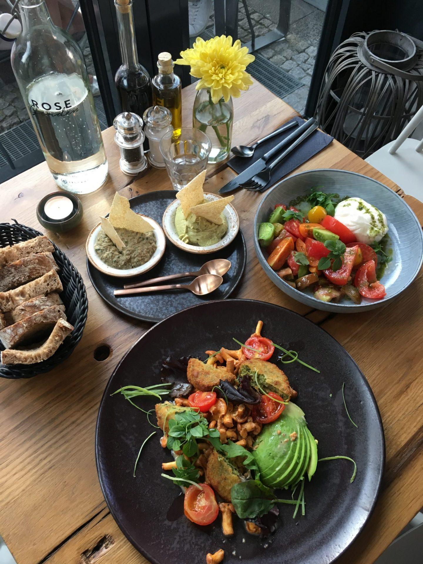 Restaurant Tipp Berlin rose Garden gesund vegan Empfehlung