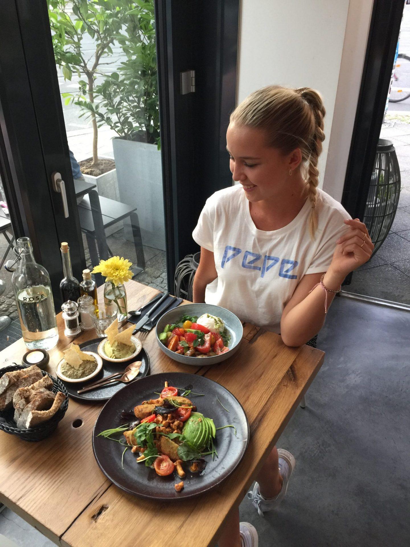 Restaurant Tipp Berlin rose Garden gesund vegan