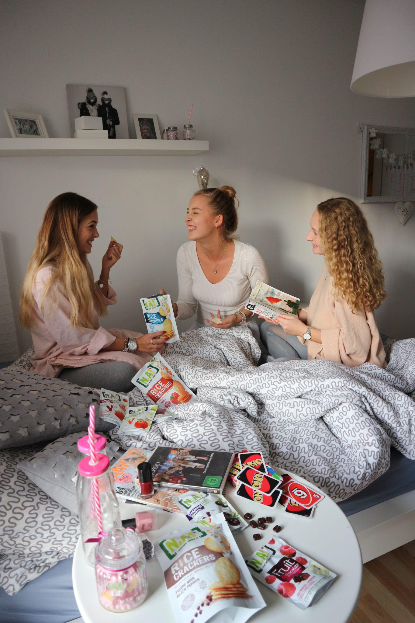 GIRLSNIGHT – SLEEPOVER PARTY CHECKLISTE