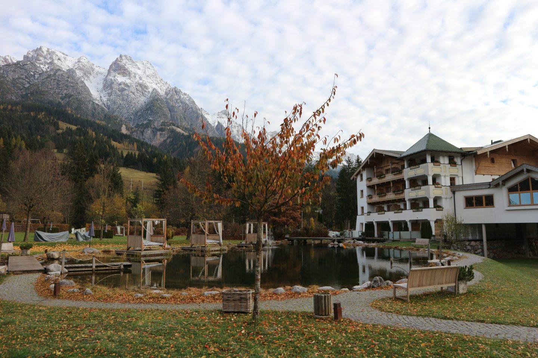 Hotel review Empfehlung Reiseblog Reisebericht Leogang Tirol Hotel Naturhotel Forsthofgut